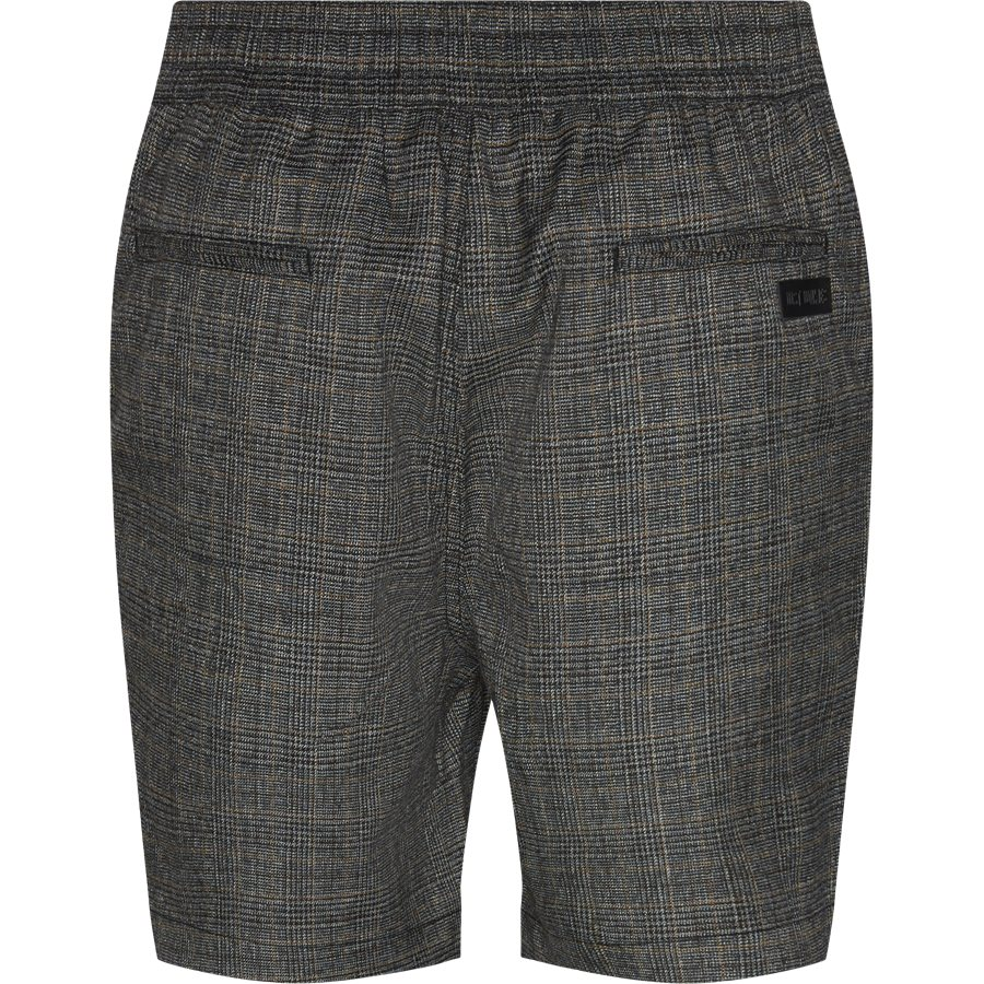 PRESS CHECK SHORTS - Press Check Shorts - Shorts - Straight fit - GRÅ - 2
