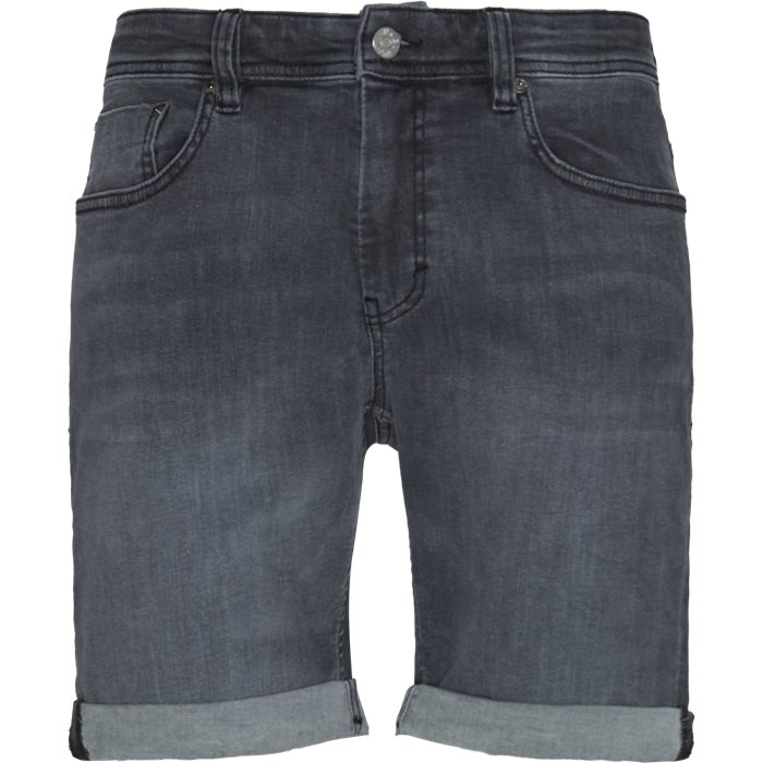 Home Grey Mike Shorts - Shorts - Regular - Grå