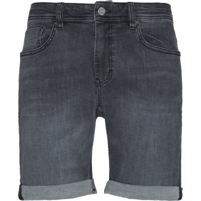 Home Grey Mike Shorts Regular | Home Grey Mike Shorts | Grå