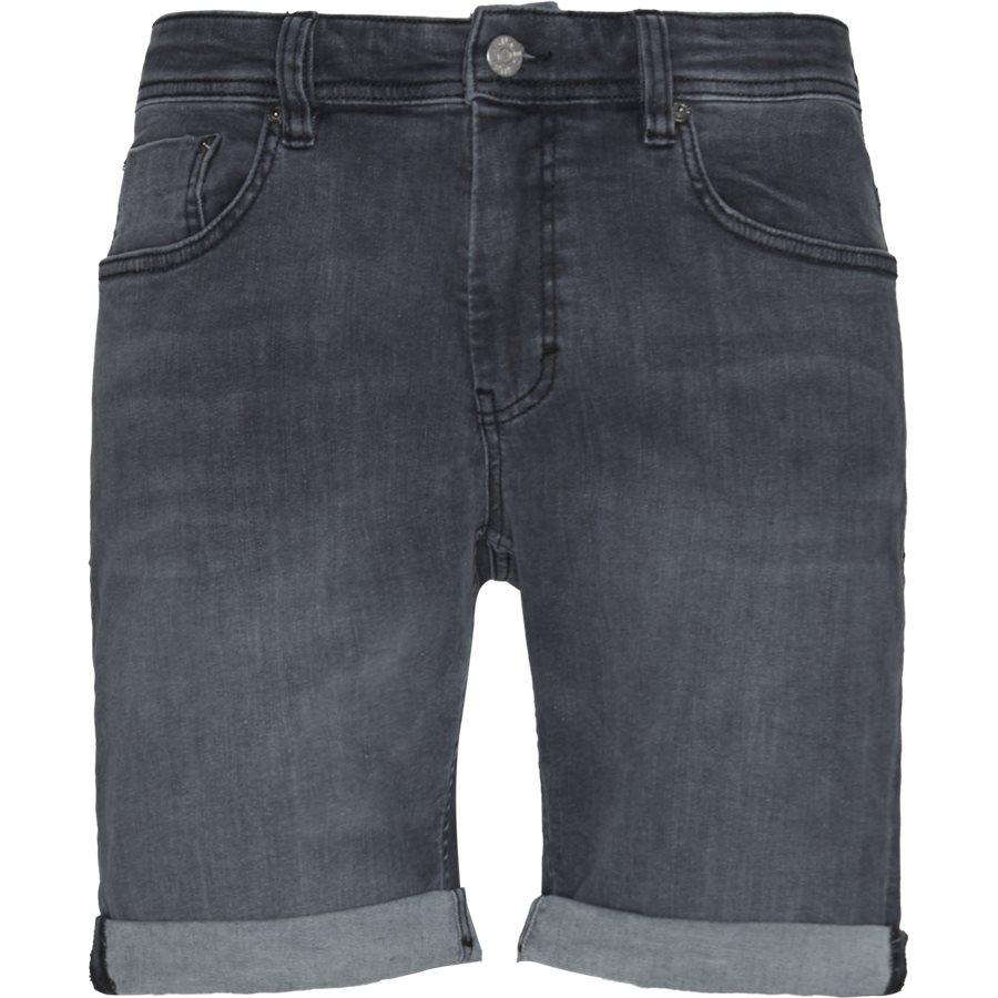 HOME GREY MIKE SHORTS  - Home Grey Mike Shorts - Shorts - Regular - GRÅ - 1