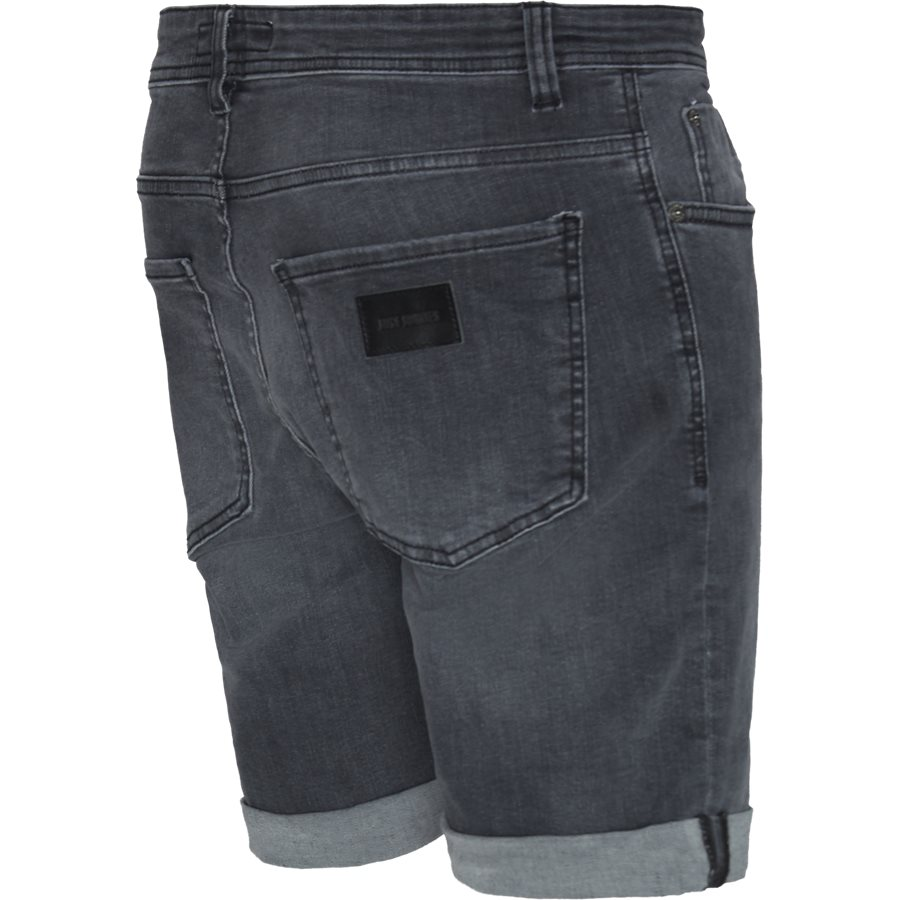 HOME GREY MIKE SHORTS  - Home Grey Mike Shorts - Shorts - Regular - GRÅ - 3