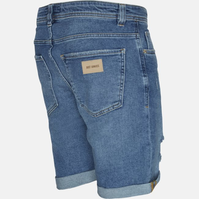 PIllow Blue Holes Mike Shorts
