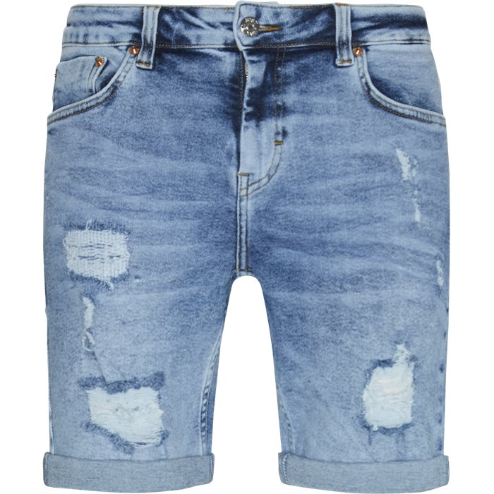 Ozon Blue Mike Shorts - Shorts - Regular - Denim