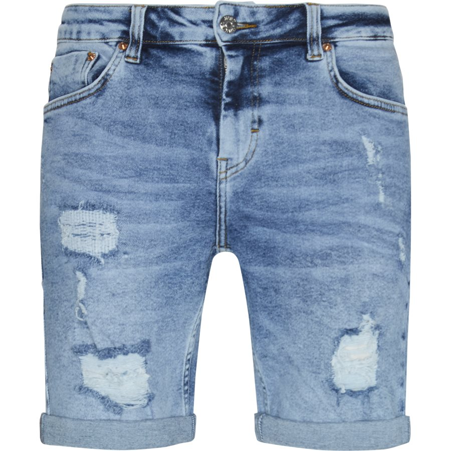 OZON BLUE MIKE SHORTS - Ozon Blue Mike Shorts - Shorts - Regular - DENIM - 1
