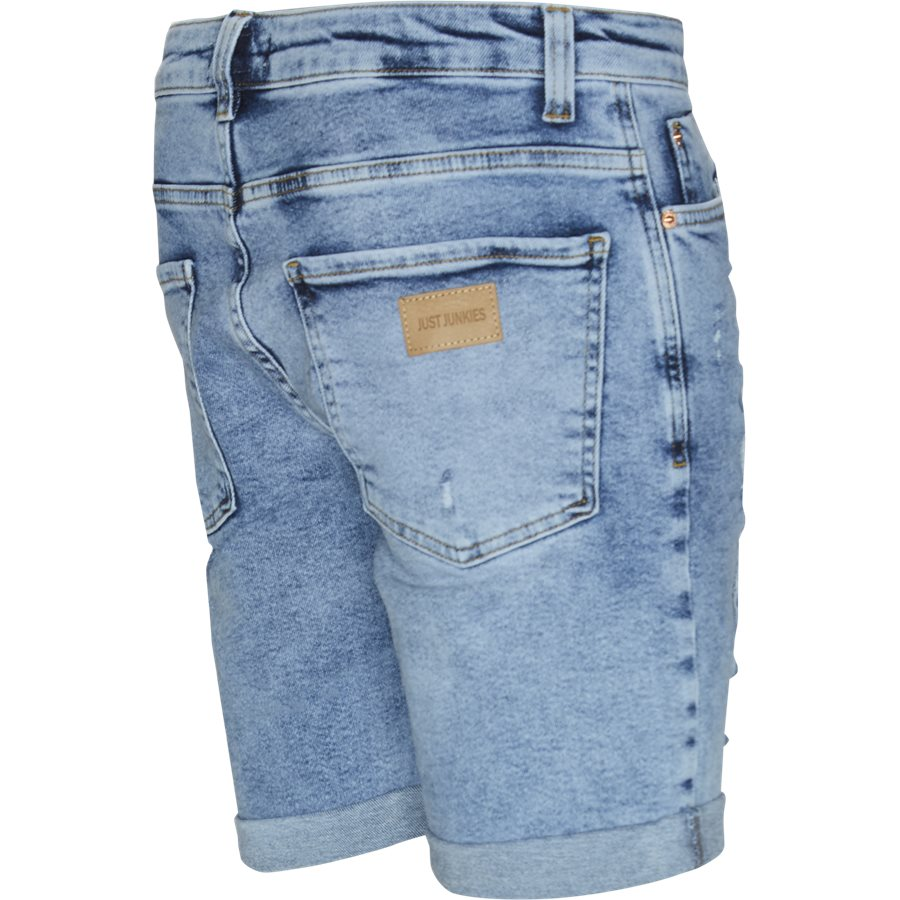 OZON BLUE MIKE SHORTS - Ozon Blue Mike Shorts - Shorts - Regular - DENIM - 3