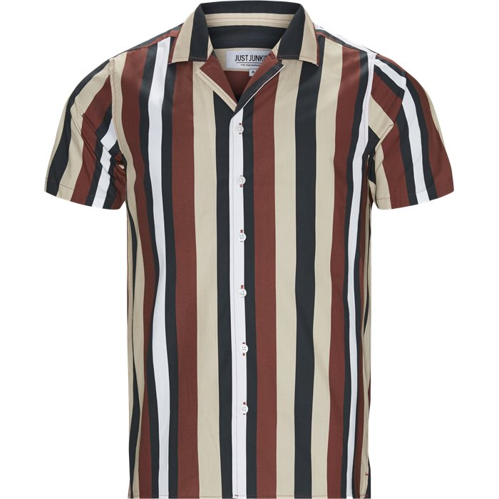 Version Shirt - Skjorter - Regular - Sand