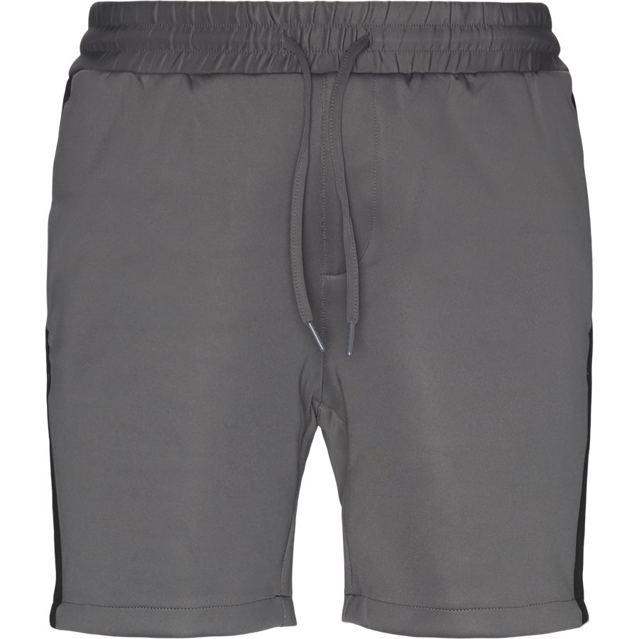 ALFRED SHORTS - Alfred Shorts - Shorts - Straight fit - GRÅ/SORT - 2