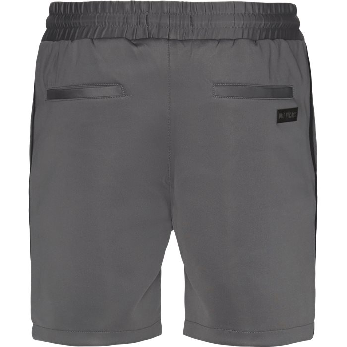 Shorts - Straight fit - Grå