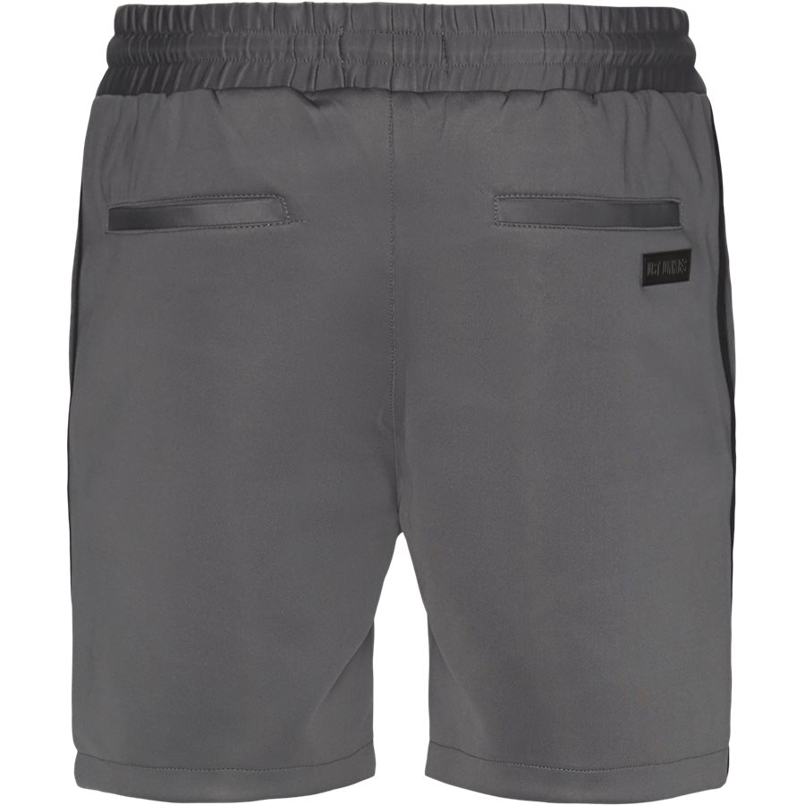 ALFRED SHORTS - Alfred Shorts - Shorts - Straight fit - GRÅ/SORT - 3