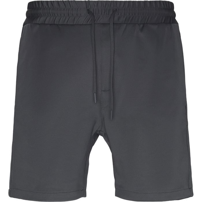 Shorts - Straight fit - Grey