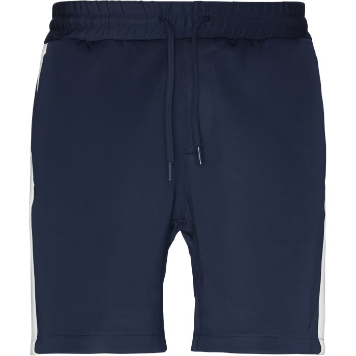Shorts - Straight fit - Blue
