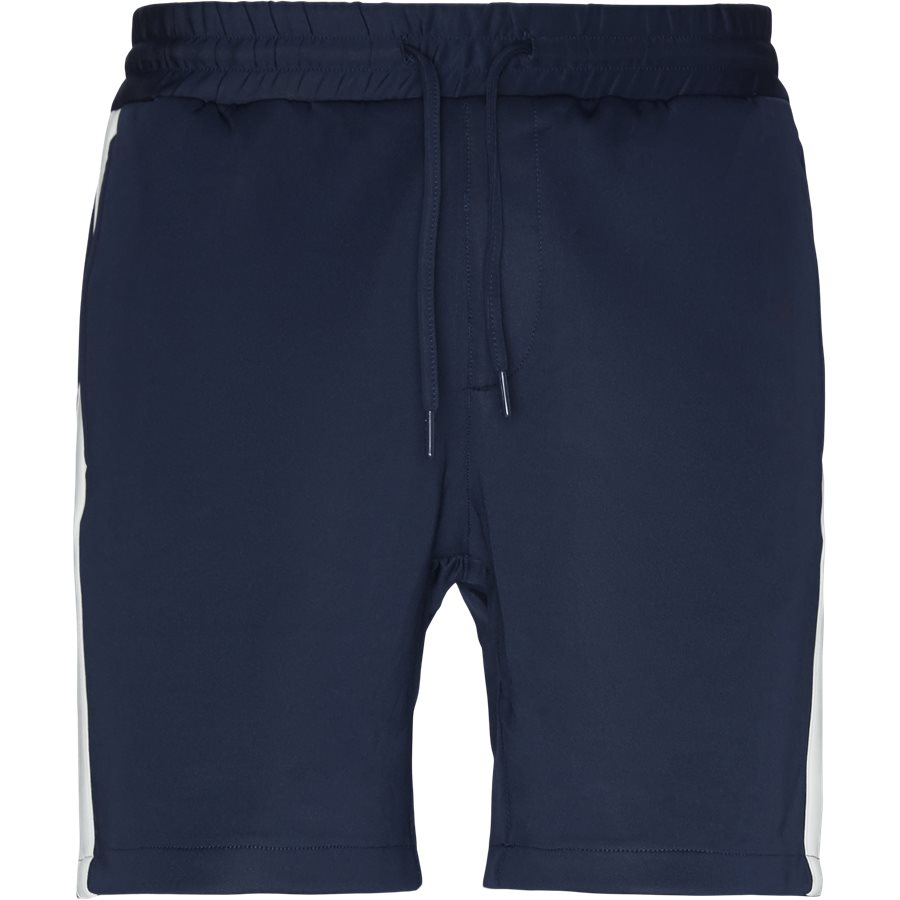 ALFRED SHORTS - Alfred Shorts - Shorts - Straight fit - NAVY/HVID - 2