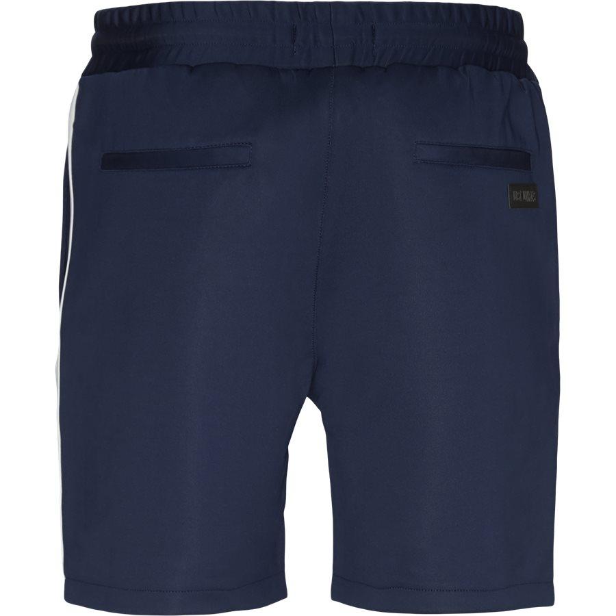 ALFRED SHORTS - Alfred Shorts - Shorts - Straight fit - NAVY/HVID - 3