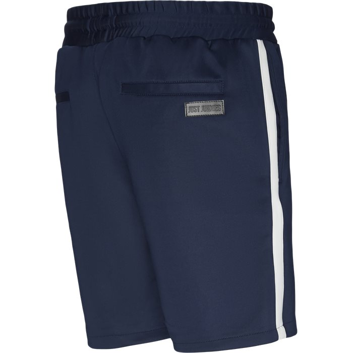 Shorts - Straight fit - Blå