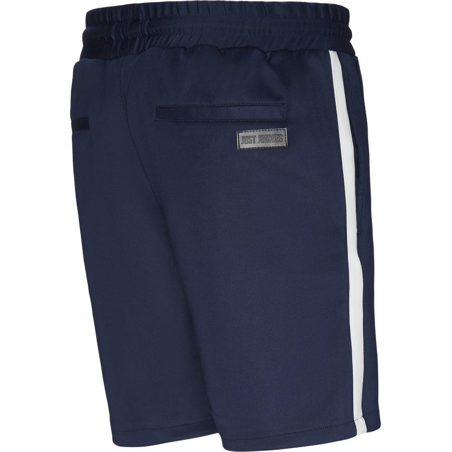 ALFRED SHORTS - Alfred Shorts - Shorts - Straight fit - NAVY/HVID - 1