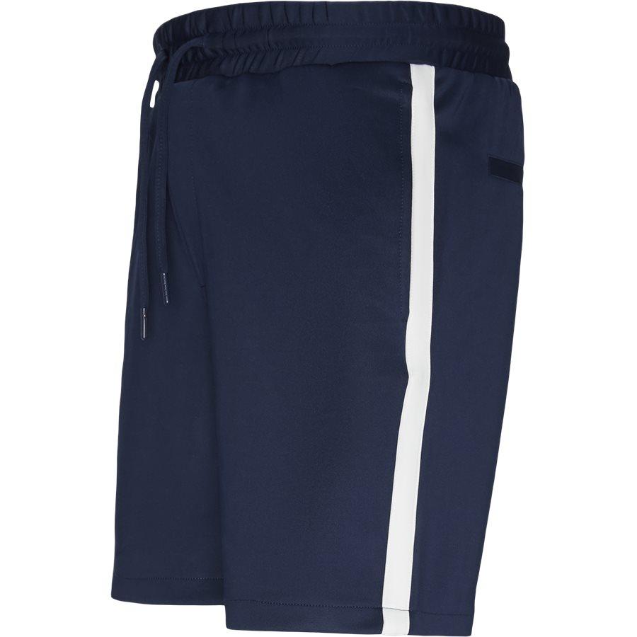 ALFRED SHORTS - Alfred Shorts - Shorts - Straight fit - NAVY/HVID - 4