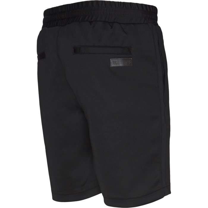 Shorts - Straight fit - Svart