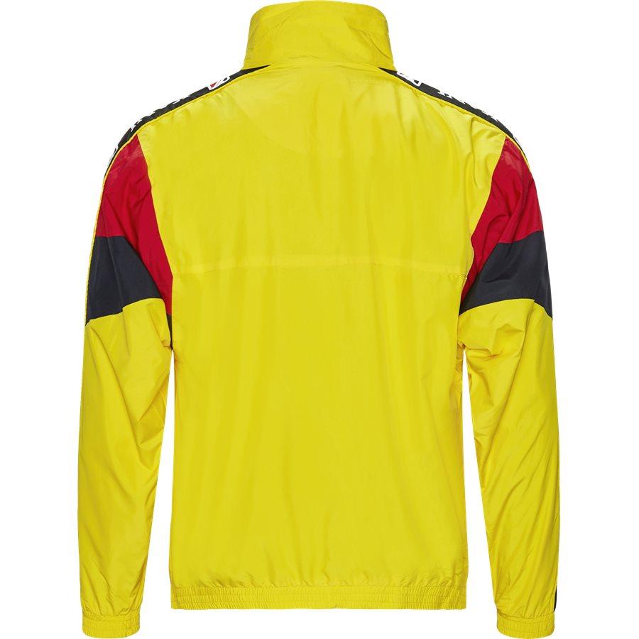 RETRO BLOCK TRACKJACKET 3581937 - Retro Block Track Jacket - Sweatshirts - Regular - GUL - 2