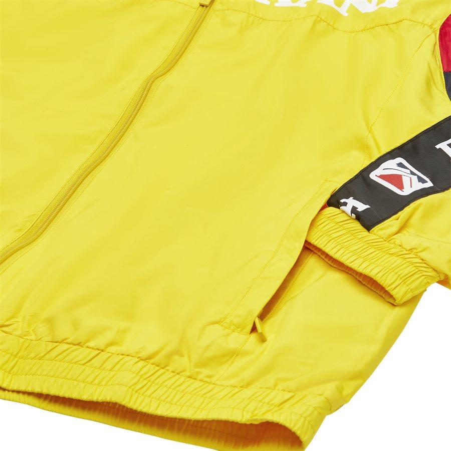 RETRO BLOCK TRACKJACKET 3581937 - Retro Block Track Jacket - Sweatshirts - Regular - GUL - 4