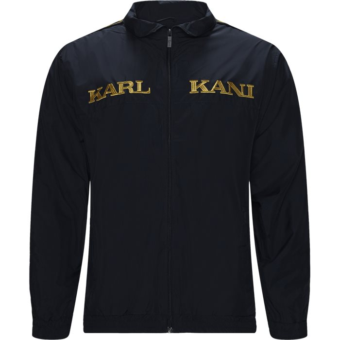 Retro Track Jacket  - Sweatshirts - Regular - Blå