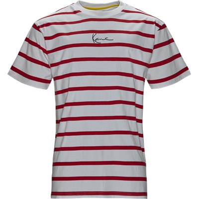 Signature Stripe Tee Regular | Signature Stripe Tee | Hvid