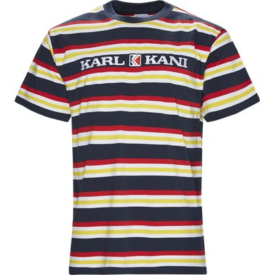 Retro Stripe Tee Regular | Retro Stripe Tee | Blå