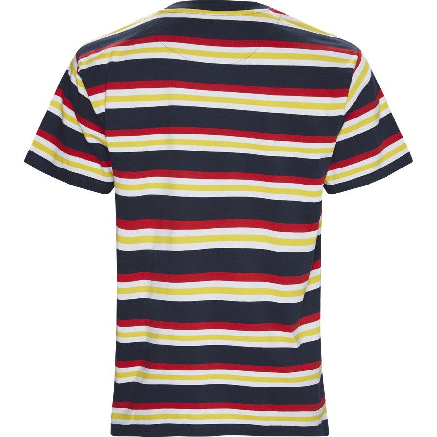 RETRO STRIPE TEE 3581858 - Retro Stripe Tee - T-shirts - Regular - NAVY/RØD - 2