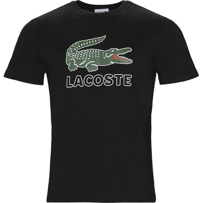 TH6386 - T-shirts - Regular - Sort