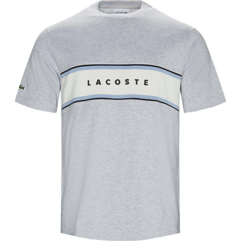 lacoste – Lacoste th4295 t-shirt grå på quint.dk