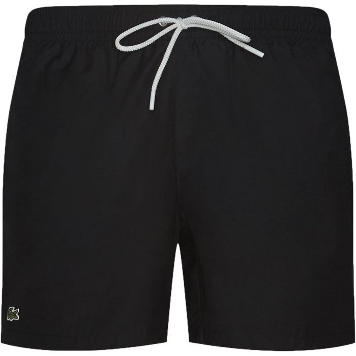 Shorts - Straight fit - Black