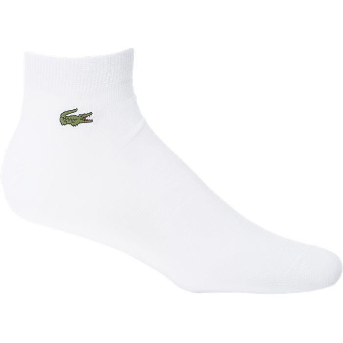 RA1163  Sokker - Strømper - Hvid