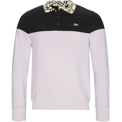 Unisex Lacoste X Opening Ceremony Sweatshirt Regular | Unisex Lacoste X Opening Ceremony Sweatshirt | Sort