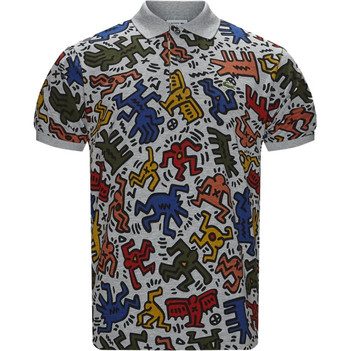 T-shirts - Regular fit - Grå