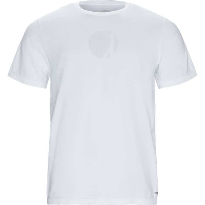 Engineered Tee - T-shirts - Regular - Hvid