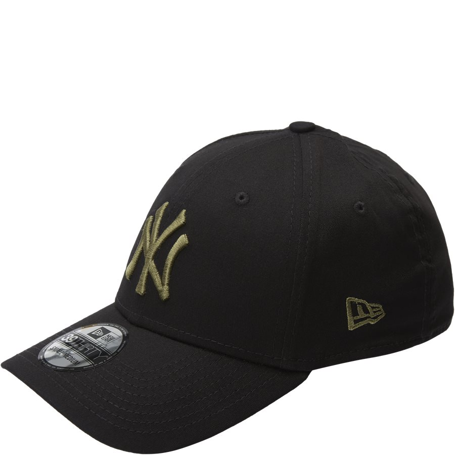 LEAGUE ESSENTIAL 3930 NY - 3930 Cap - Caps - SORT/ARMY - 1