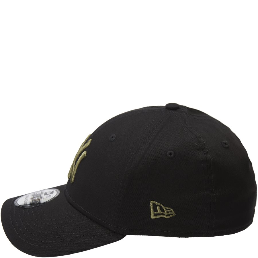 LEAGUE ESSENTIAL 3930 NY - 3930 Cap - Caps - SORT/ARMY - 3