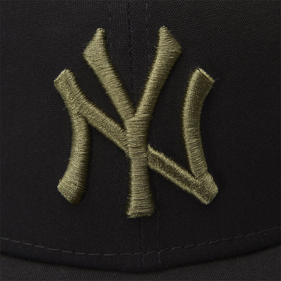 LEAGUE ESSENTIAL 3930 NY - 3930 Cap - Caps - SORT/ARMY - 5