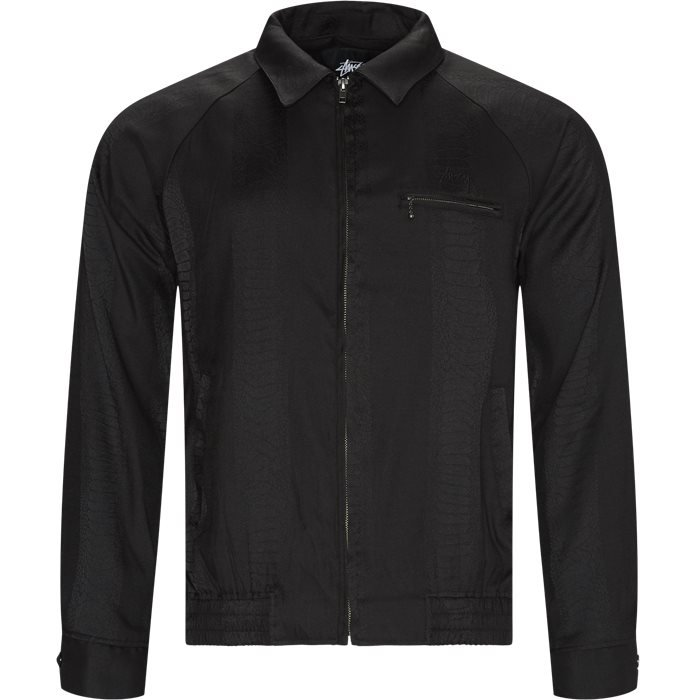 Tonal Snake Bryan Jacket - Jakker - Regular - Sort