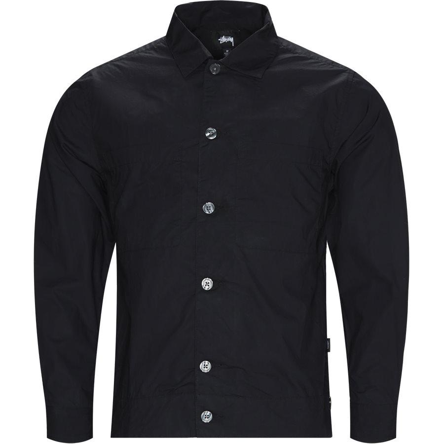 RANCH 111038 - Ranch LS Shirt - Skjorter - Regular - SORT - 1