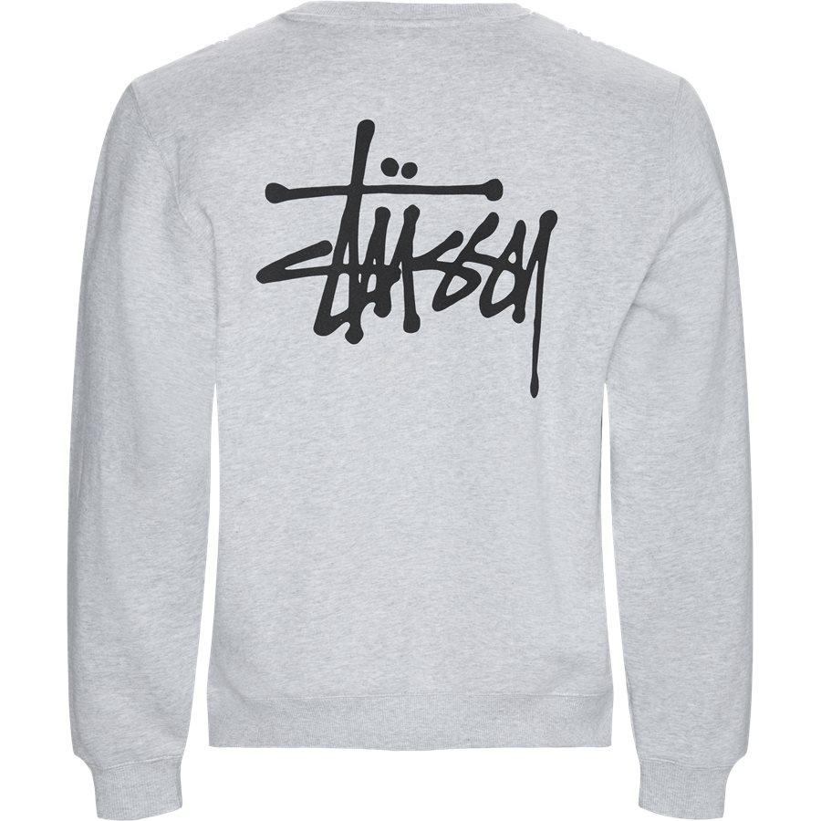 BASIC CREW 1914339 - Sweatshirts - GRÅ - 2