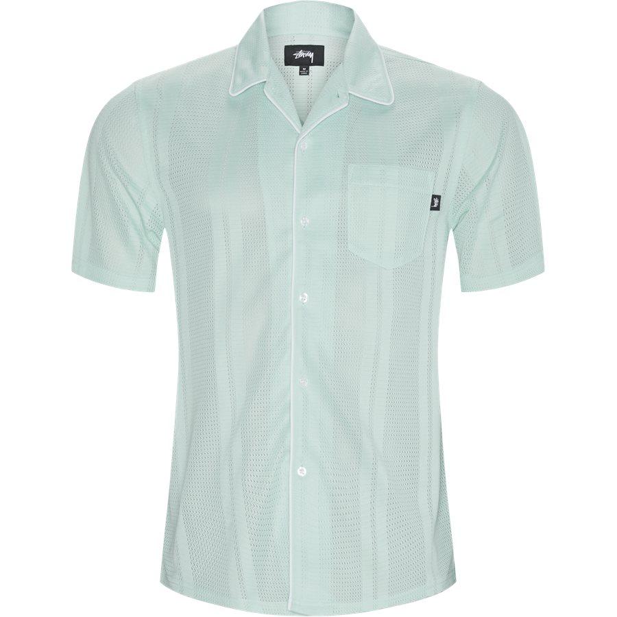 MESH SHIRT 1140129 - Mesh Shirt - Skjorter - Regular - MINT - 1