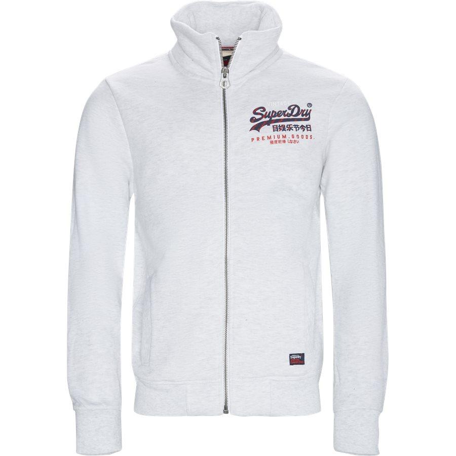 M20116AT - M20116AT Zip Sweat - Sweatshirts - Regular - GRÅ - 1