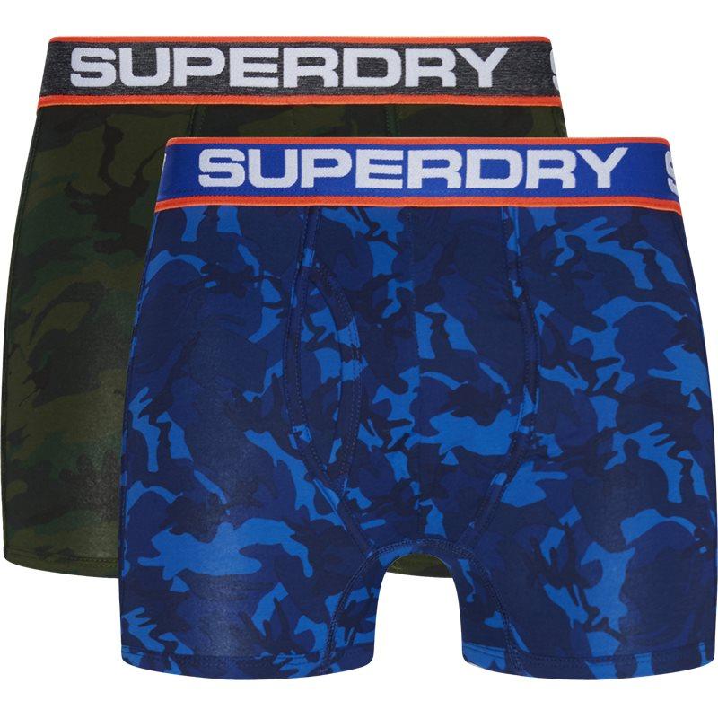Superdry m31107nt 2-pack tights camo fra superdry fra quint.dk