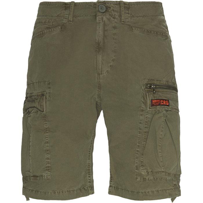 Shorts - Regular - Grön