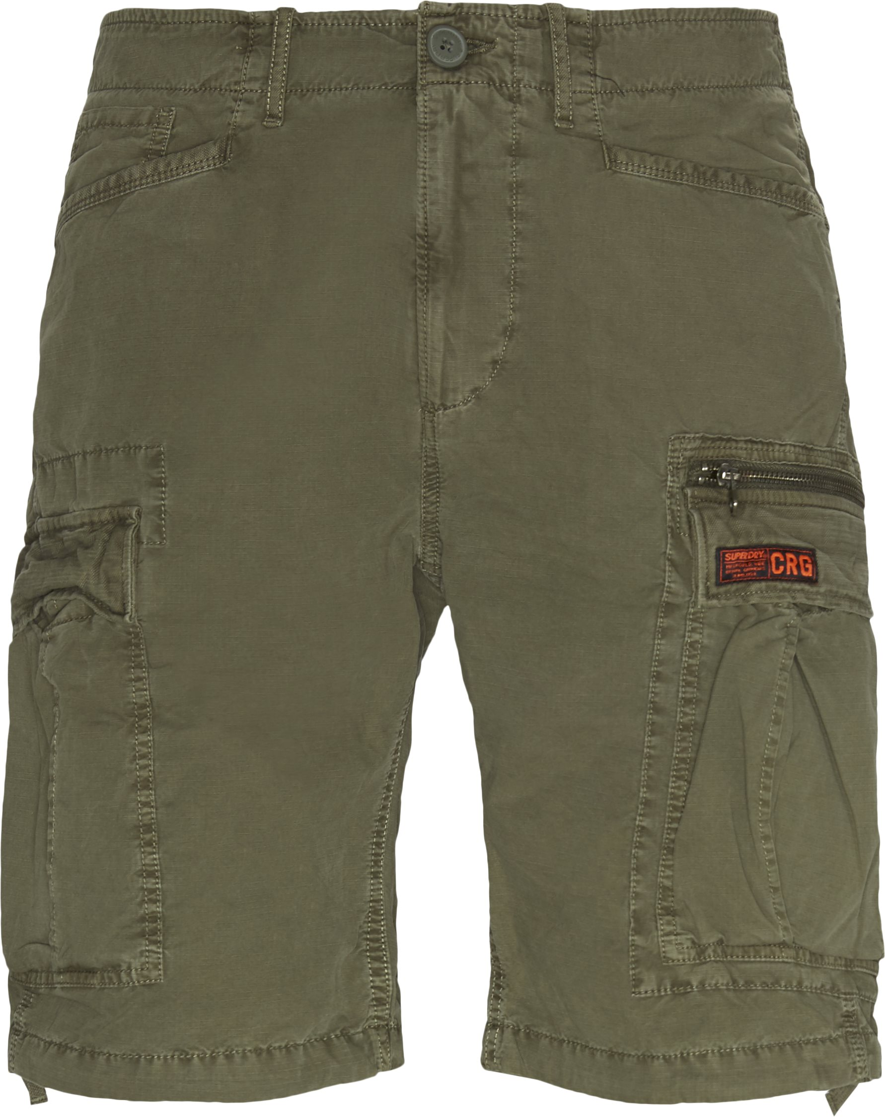 Shorts - Regular - Grön