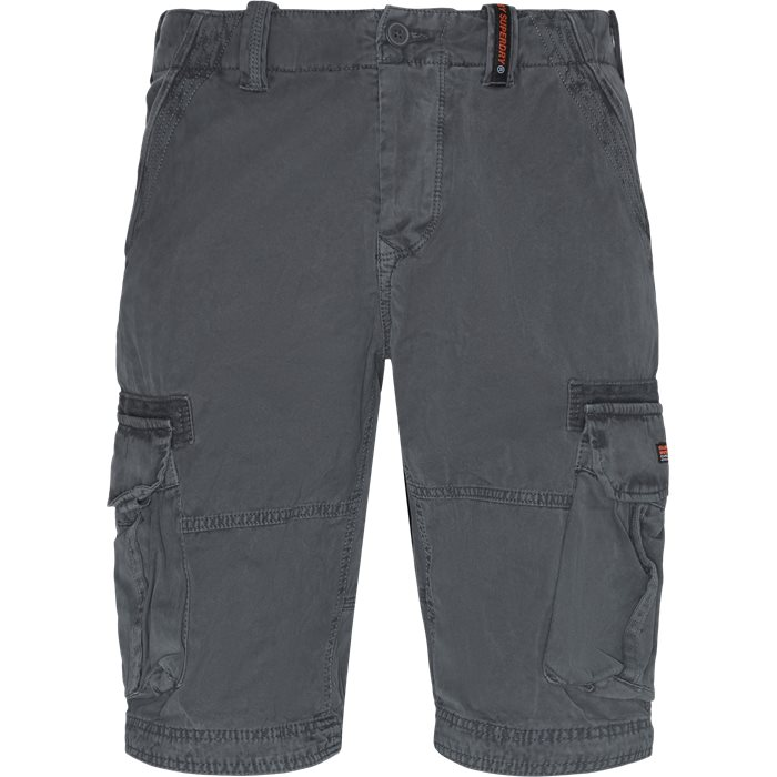 Shorts - Regular - Grå