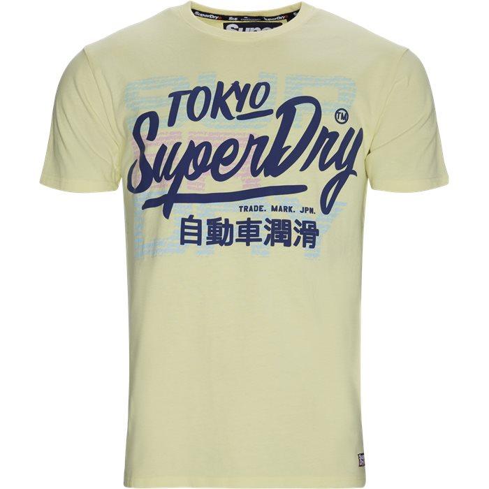 M10145TU T-shirt - T-shirts - Regular - Gul
