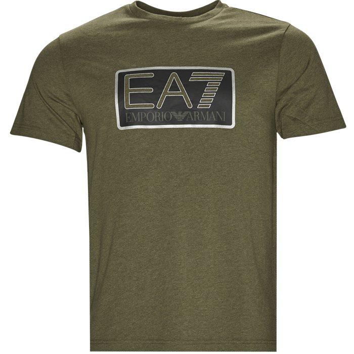 PJ02Z-6ZPT81 T-shirt - T-shirts - Regular - Grøn