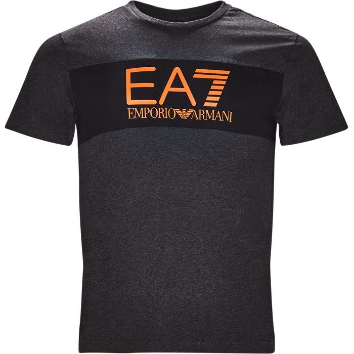 PJ02Z-6ZPT20 T-shirt - T-shirts - Regular - Grå