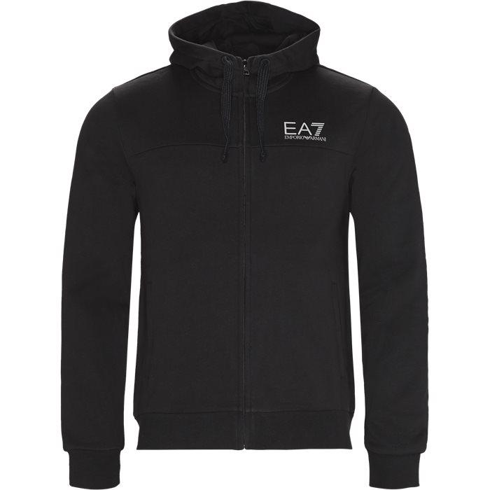 PJ07Z Full Zip Hoodie - Sweatshirts - Regular - Sort